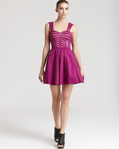 Aqua Dress - Sweetheart Taffeta