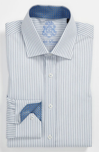 English Laundry Trim Fit Dress Shirt