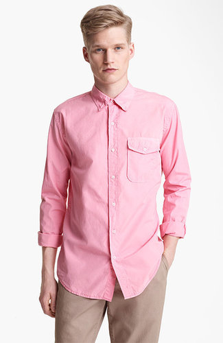 Save Khaki Poplin Shirt