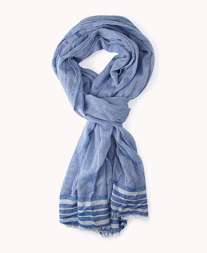 FOREVER 21 Striped Lightweight Scarf