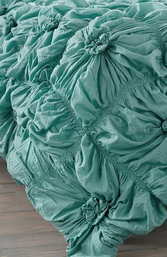 Rizzy Home Ruched Knots Comforter (Nordstrom Exclusive)