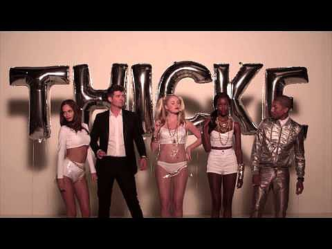 """Jimmy Kimmel Joins """"Blurred Lines"""""""
