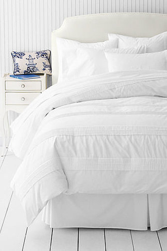 200-count Solid Newport Pintuck Duvet Cover