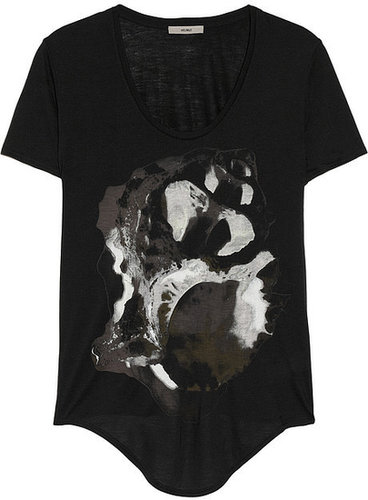 HELMUT Helmut Lang Printed jersey T-shirt
