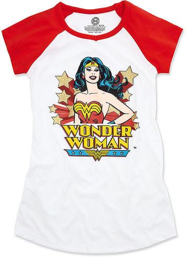 DC Comics Kids Pajamas, Girls or Little Girls Wonder Woman Nightshirt