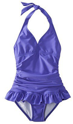 Xhilaration® Girls' 1-Piece Swimsuit Set