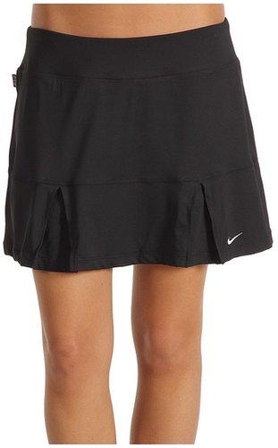 Nike - Power Pleated Skirt (Black/White) - Apparel