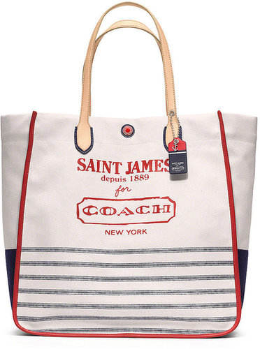Coach Legacy Weekend Saint James Canvas Large North/South Tote