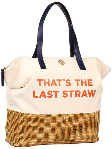 Kate Spade New York - Call To Action That's The Last Straw Terry (That's The Last Straw) - Bags and Luggage