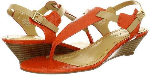 Nine West - Helm (Orange/Sand) - Footwear
