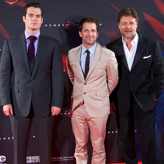 Henry Cavill at Man of Steel Premieres | Photos