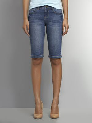 Bermuda Jean Short - Honolulu Blue Wash