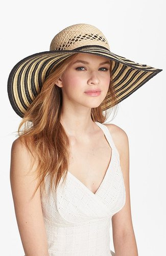 Laundry by Shelli Segal 'Angelina' Striped Sun Hat