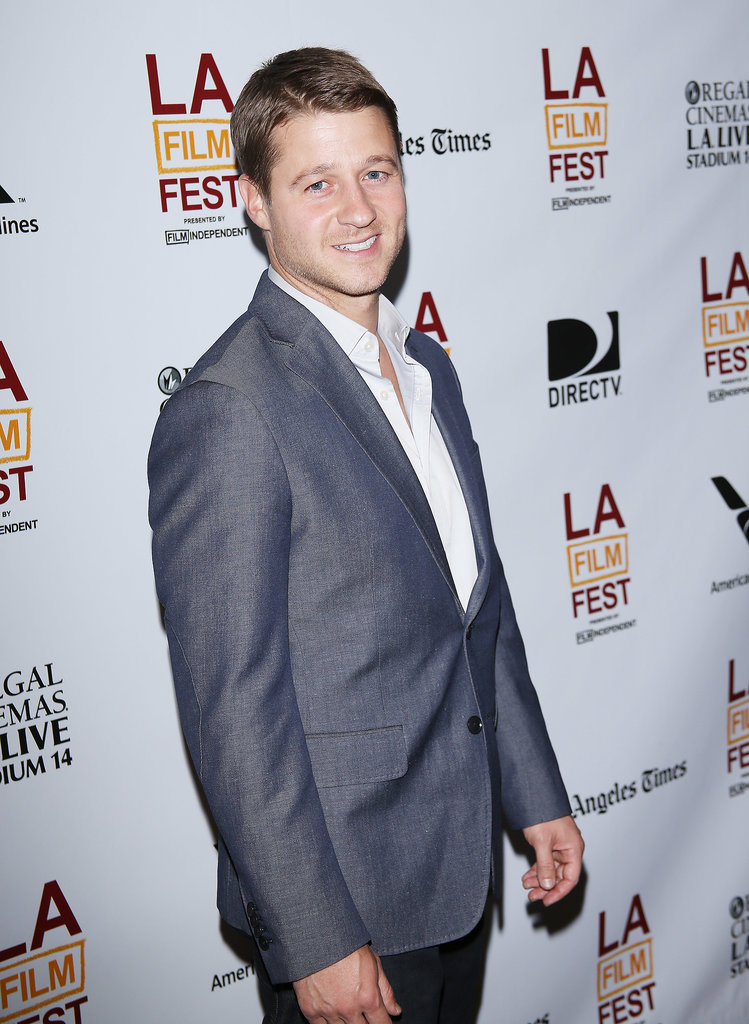 Ben McKenzie looked sharp at a screening of Goodbye World.