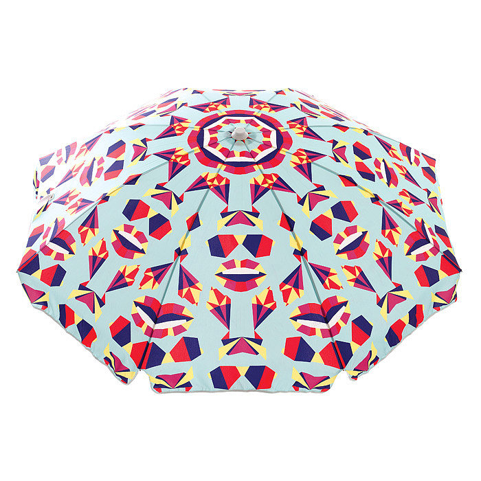 Basil Bangs' Balmy Origami umbrella ($239) boasts such a fun graphic pattern — perfect for Summer.