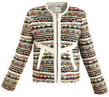 Iro Aztec tweed jacket