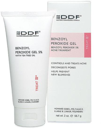 DDF Benzoyl Peroxide Gel 5% Acne Treatment 2 oz (56 g)