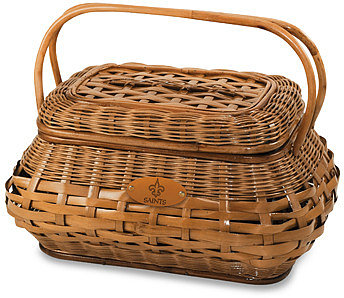 Picnic Time Highlander Picnic Basket New Orleans Saints