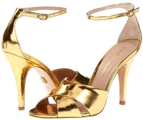Pour La Victoire - Kalinda (Gold Mirror) - Footwear