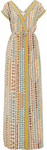 Paul & Joe Podium printed silk maxi dress