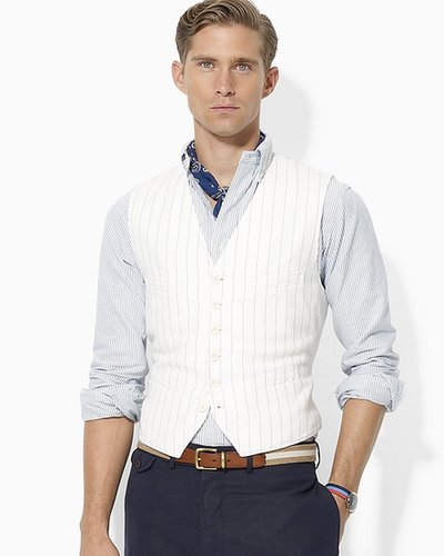 Polo Ralph Lauren Watford Cotton-Blend Vest