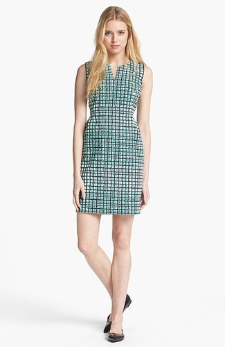 Kate Spade New York 'samantha' Stretch Cotton Sheath Dress