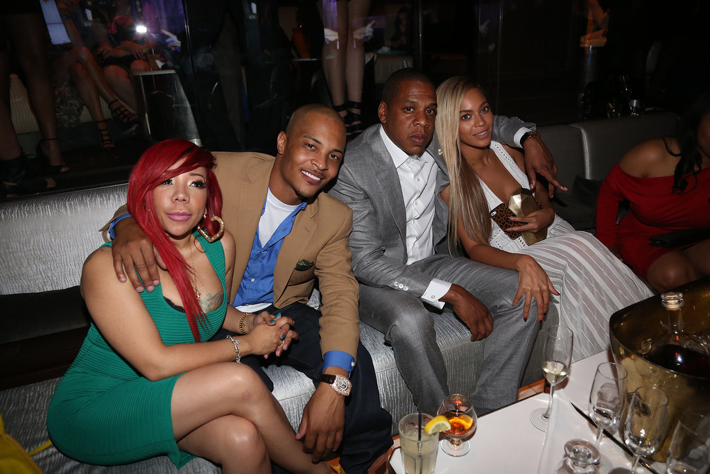 Beyoncé and Jay-Z partied with T.I. and Tiny.