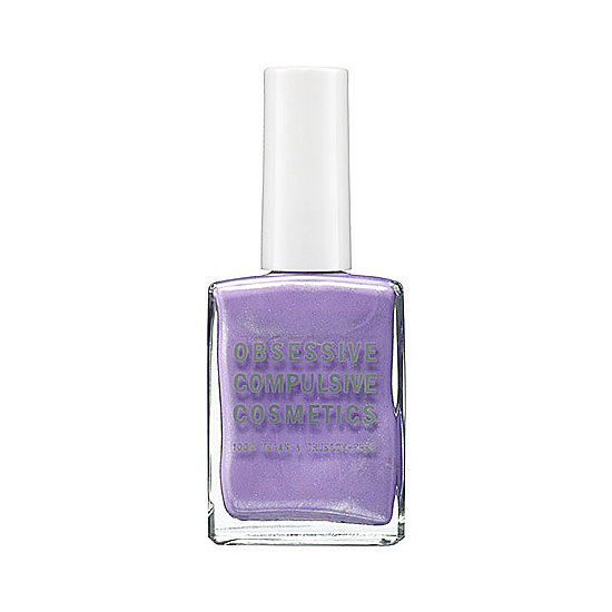 If velvety plums are for cold weather, then this sparkling lavender hue is ideal for Summer. Try Obsessive Compulsive Cosmetics Nail Lacquer in Electric Sheep ($10) for perfectly pastel purple.