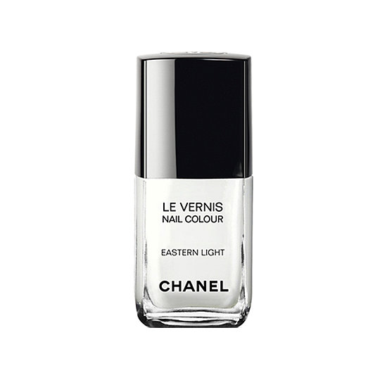 An opaque white polish like Chanel Le Vernis in Eastern Light ($30) will give your toes an extra pop of style. Plus, the neutral shade will go with anything and looks stunning against a (fake) tan.