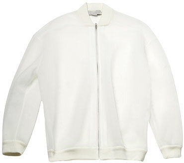 Stella McCartney Paper Airtex bomber jacket