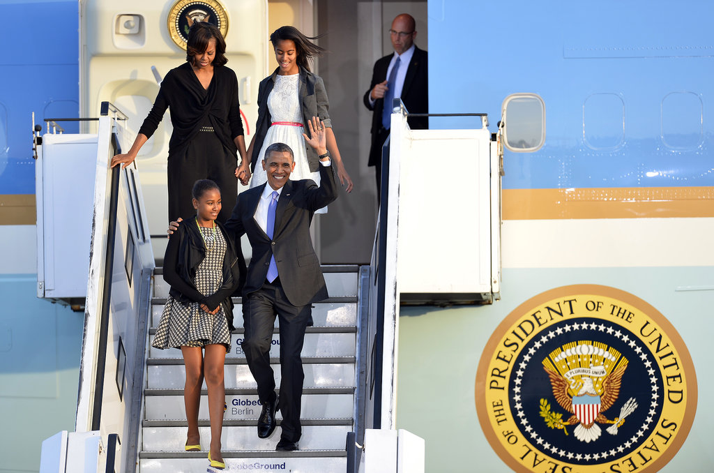 The Obamas traveled to Berlin in June 2013.