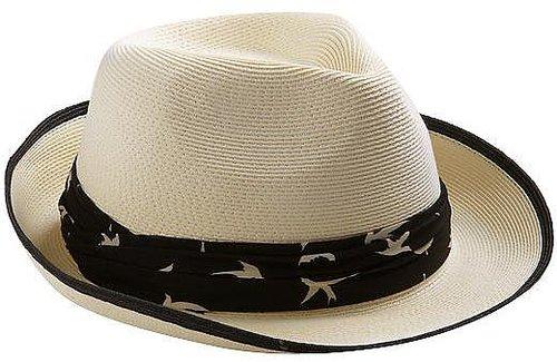 San Diego Hat Company Fine Braid Fedora