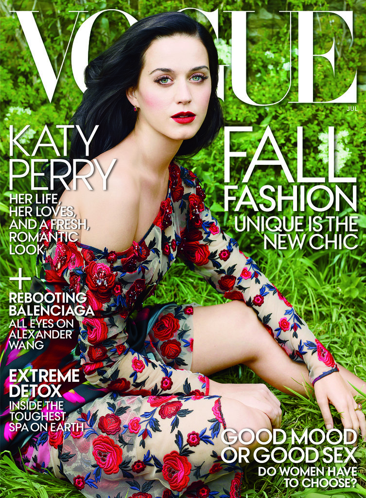 Katy Perry covers US Vogue's July issue. Source: Annie Leibovitz/Vogue