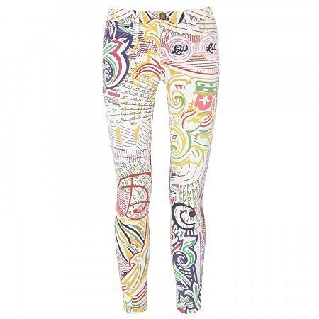 Mary Katrantzou Pound mid-rise printed skinny jeans - Multicoloured