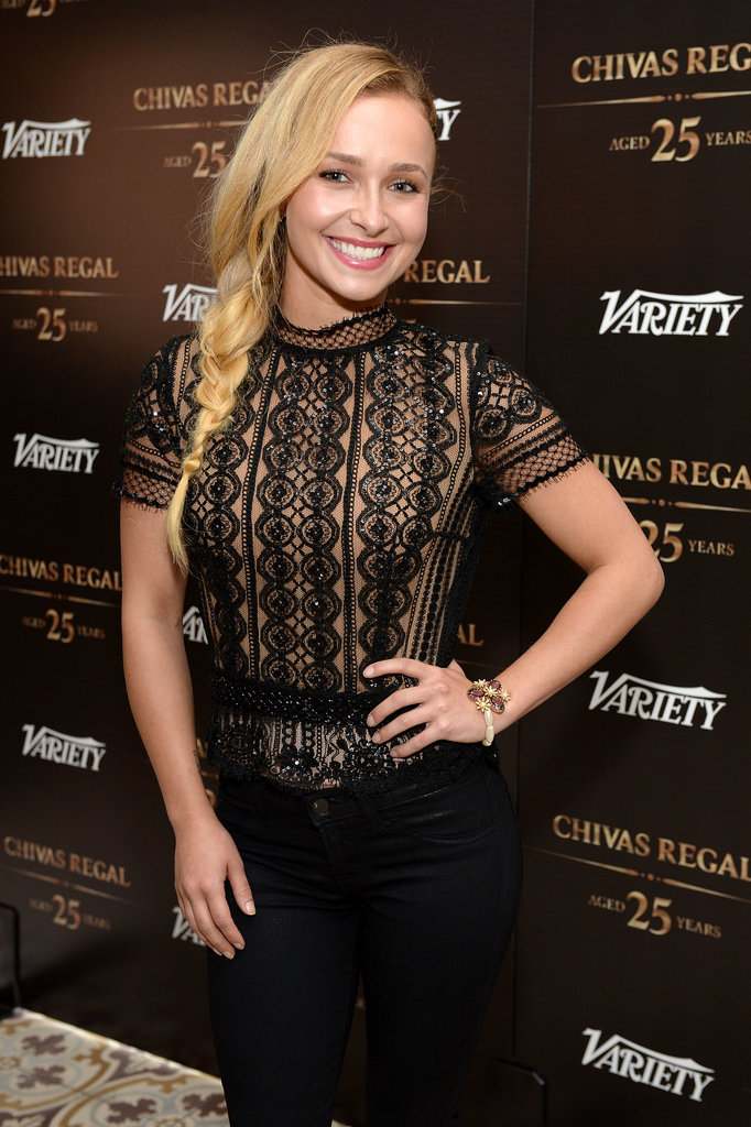 Casual and cool, Hayden Panettiere's braid is simply sweet.
