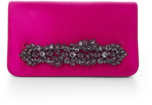 Crystal-Detail Clutch
