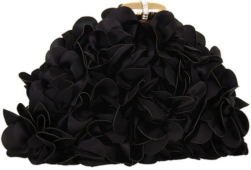 Franchi Handbags - Kayla Clutch (Black) - Bags and Luggage