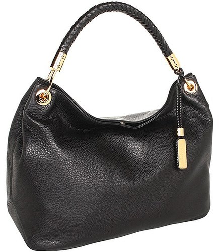 Michael Kors - Skorpios Large Shoulder Bag (Black) - Bags and Luggage