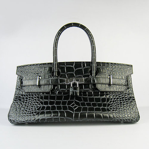 Hermes Birkin Bag 30 Crocodile Head Gold Hardware Parchemin