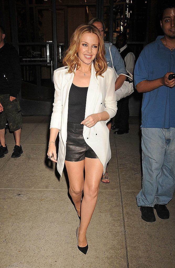 Kylie Minogue continued her promo tour of New York as she spruiked her new book on June 19.