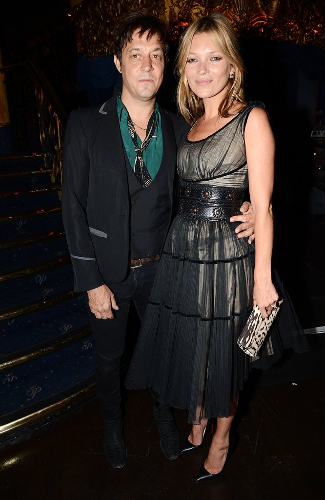 Kate Moss and hubby Jamie Hince stepped out for charity on June 20, when they attended the Rock On benefit event for Palestinian refugees in London.