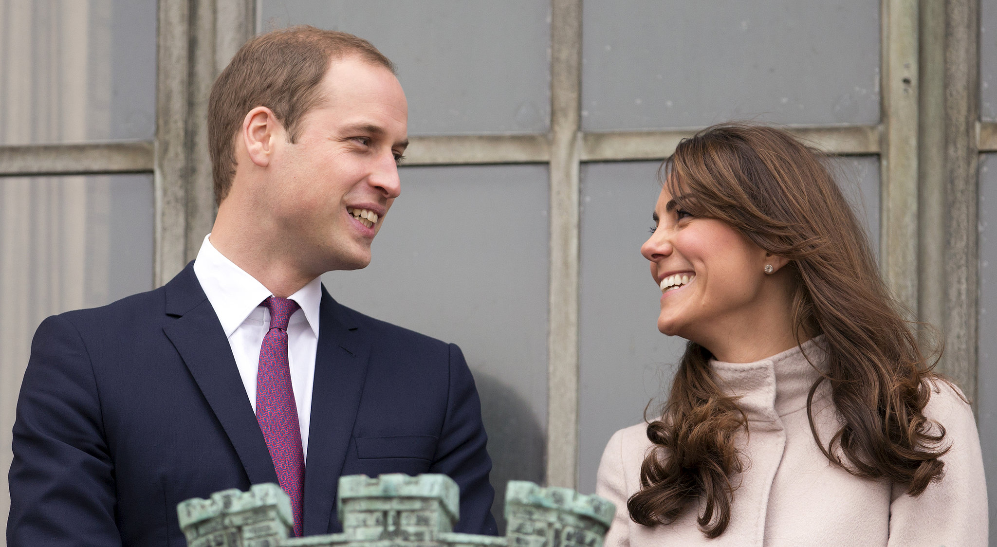 The couple only had eyes for each other while visiting Cambridge in November 2012.