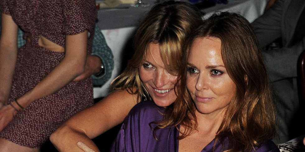 Kate Moss Rocks Out For Refugees With Stella and Jamie