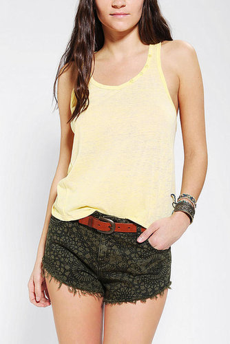 Ecote Triblend Burnout Racerback Tank Top