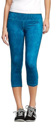 "Women's Active by Old Navy Printed-Compression Capris (20"")"
