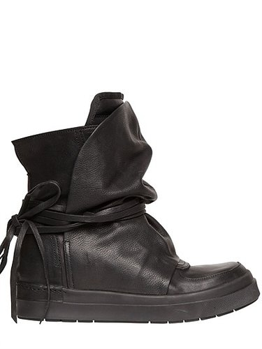 60mm Internal Wedge Calfskin Boots