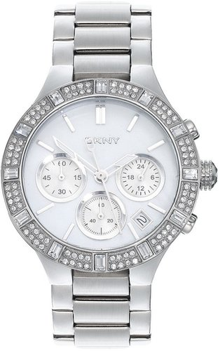 DKNY Gold Crystal Detail Watch