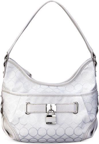 Nine West Handbag, 9 Jacquard Small Hobo