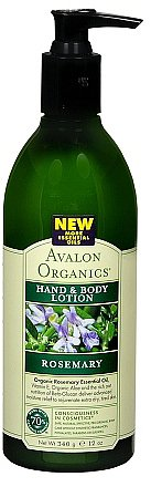 Avalon Organics Hand & Body Lotion Rosemary