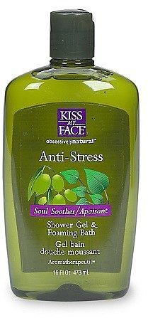 Kiss My Face Anti-Stress Relaxing Bath & Shower Gel Woodland Pine & Ginseng
